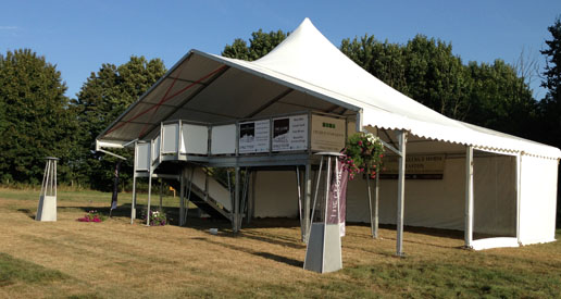 Marquee designed for Corporate Event
