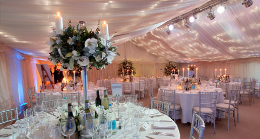 Wedding Marquee created by Creative Catering and Marquees