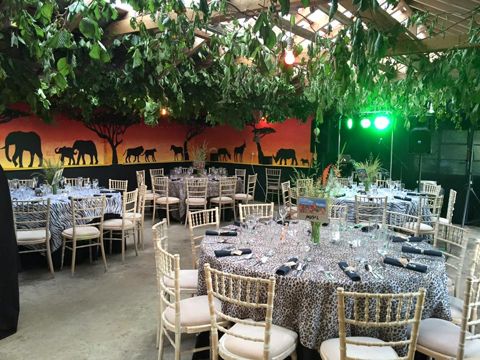 Out Of Africa Themed 21st Birthday Party
